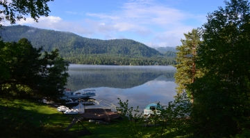 Два горных озера