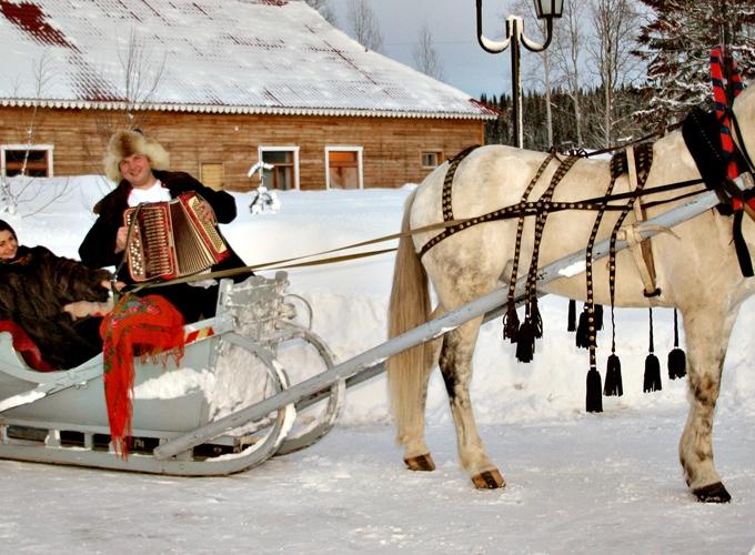 4 декабря. Зима в  Русском стиле.